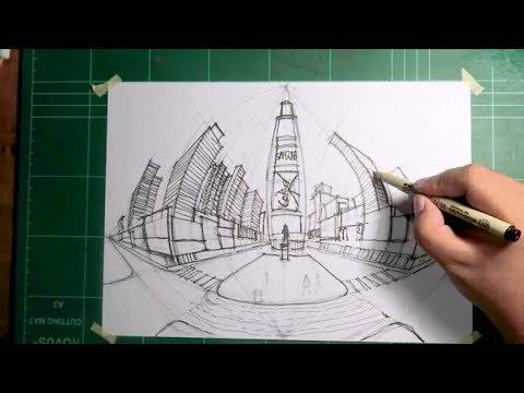Gambar Perspektif 5 Titik Hilang I How To Draw Using 5 Point Perspective Kaskus