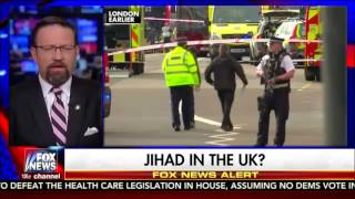 Sebastian Gorka uses London attack to justify Muslim ban