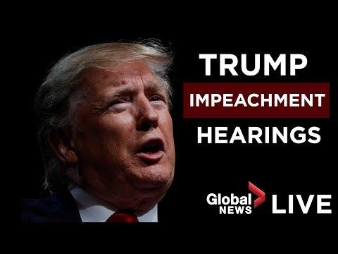 Donald Trump impeachment inquiry open hearing, Day 1 | FULL