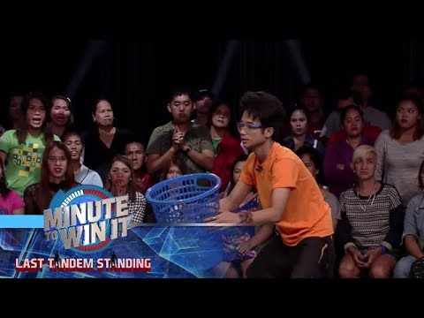 Frequent Catcher | Minute To Win It - Last Tandem Standing