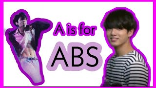 LEARN THE ALPHABET WITH BTS JUNGKOOK ICONIC QUOTES (BTS CRACK)