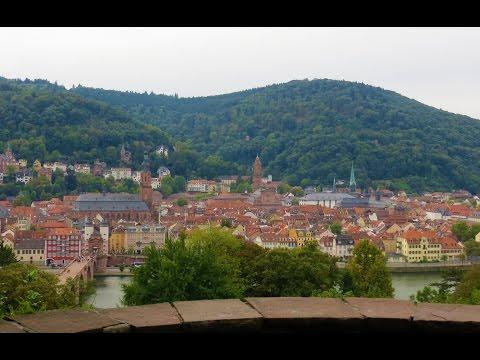 Philosophers Walk (Philosophenweg) in Heidelberg, Germany