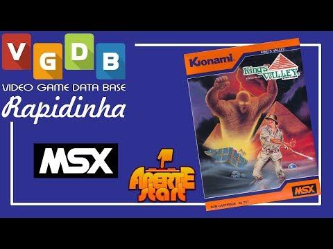 King's Valley - MSX - Rapidinha VGDB #199