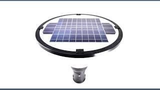 Solar Powered Landscape Light - 1000 Lumens LED