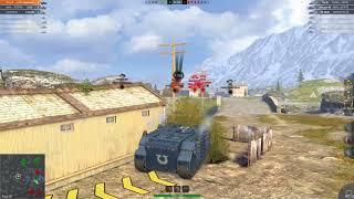 WOT Blitz Vindicator UM показательное танкование ковшом