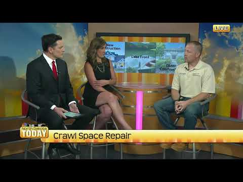 System design specialist, Casey Bratholt, visits the set of North Dakota Today to speak about the importance of encapsulating crawlspaces.