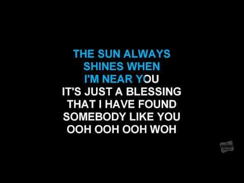 Every Time I Close My Eyes in the style of Babyface karaoke with lyrics