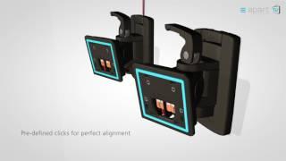 MASK6CT-W APart, Акустическая система, мощность 200Вт от компании DiscoShop - видео