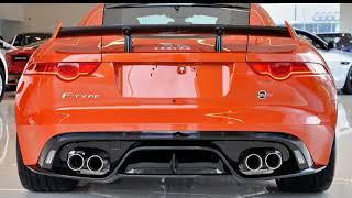 2016 Jaguar F-TYPE X152 MY17 SVR Quickshift AWD Firesand 8 Speed Sports Automatic Coupe