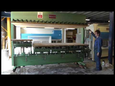 Used Interwood FHU Upstroke Press