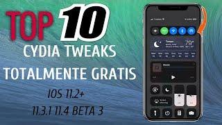 Top 10 Tweaks Gratis iOS 11.2+ 11.3.1 11.4 Beta 3 iPhone x 8,8+ 7,7+ 6,6+