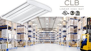 video: Columbia Lighting's CLB Linear High Bay