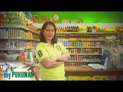 , title : 'My Puhunan: Minimart owner Sally Bermundo