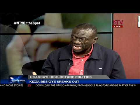 ON THE SPOT: Uganda's high octane politics with Dr Kizza Besigye