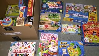 Best Board Games for Toddlers & Young Children!
