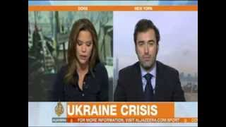 Peter Zalmayev (Залмаев): Al Jazeera, Interview on Ukraine, March 7, 2014