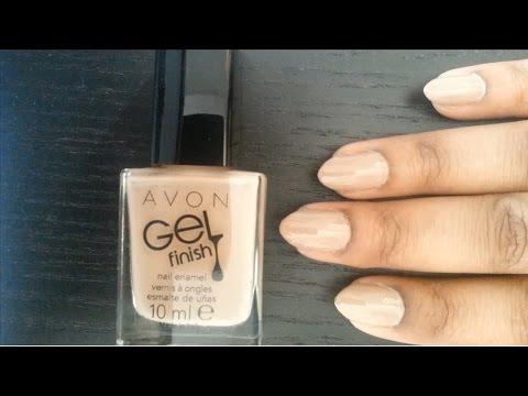 Avon Gel Finish Nail Polish Review | BEAUTY BOX.X