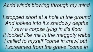 Abscess - Through The Cracks Of Death Lyrics