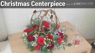 🎄크리스마스 센터피스 (버드케이지)🎄 How To Make A Christmas Centerpieces