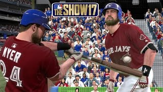 MLB The Show 17 Matt Myer (Catcher) Road To The Show - EP128 MLB 17 Debut!