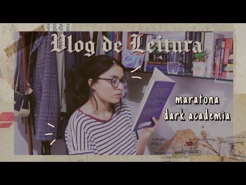 vlog de leitura // unboxing e cordialmente cruel | maratona literária dark academia 01