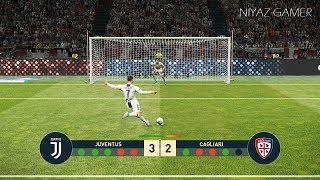 JUVENTUS vs CAGLIARI | Penalty Shootout | PES 2019 Gameplay PC