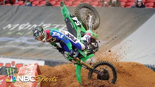 Wildest moments from the 2020 Supercross season so far | Motorsports on NBC