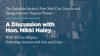 Click to play: A Discussion with Hon. Nikki Haley