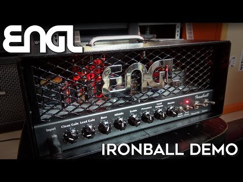 LTD EC1000T & ENGL Ironball demo!