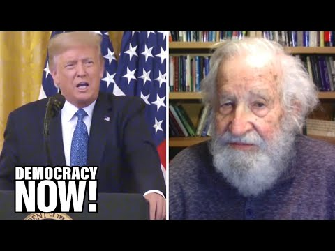 """Man. Woman. Camera. Person. TV."": Noam Chomsky Responds to Trump Bragging He Aced a Dementia Test"
