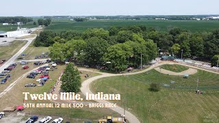Twelve Mile 500 2020 Lawnmower Race - Briggs Race Drone Footage