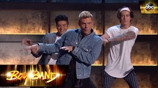 Nick Carter teaches the boys the Everybody dance | Boy Band