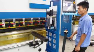 Accurl Press Brake 4 axis CNC | ECOPOWER Technology | Bending machines – Metal Working Machinery