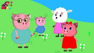 Мультфильм для детей - Смешное видео о Приключениях Свинки Алисы на канале Kids Cartoon