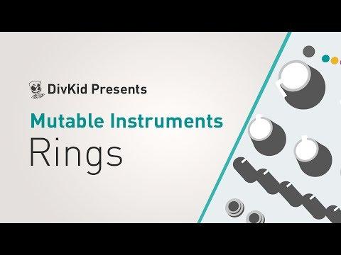 MUTABLE-INSTRUMENTS Rings Eurorack modul