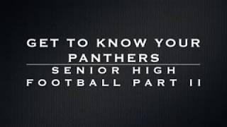 Football - Getting to Know the Players Part 2