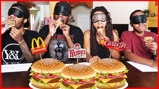 THE GUESS THAT BURGER CHALLENGE!!