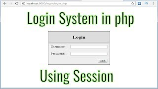 Login logout system with session in php for beginners
