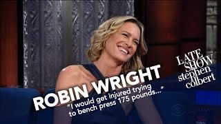 Robin Wright Picks Claire Underwood In A Fight Against Her