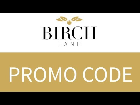 Birch lane coupon code september 2019