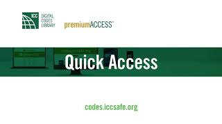 ICC Digital Codes Library Webinar: Session 1: Free Access, Content Search, Quick Access & Sharing