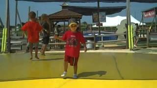 Barnyard Jump at Cherry Crest Adventure Farm, Lancaster, PA