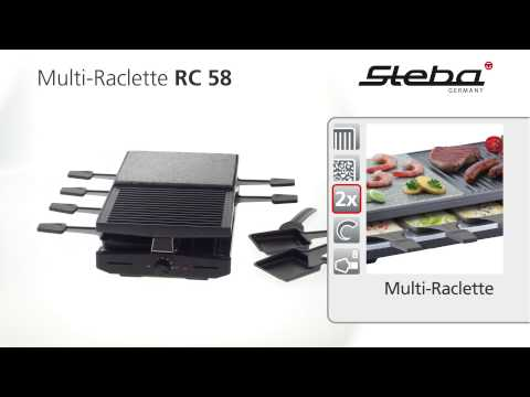 Gril raclette kombi Steba RC 58