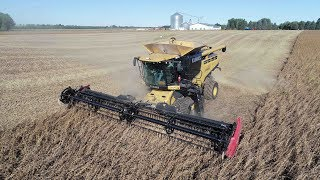 Miller Farms 2018 Soybean Harvest & Wheat Planting