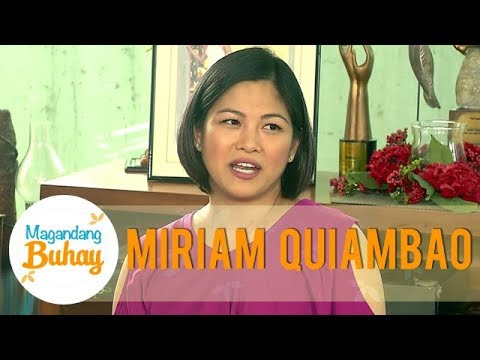 Miriam opens up about being a first time mother to a newborn    Magandang Buhay