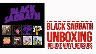 Black Sabbath Vinyl Reissues: Unboxing With Narration