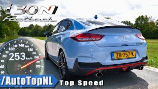 Hyundai i30N Fastback 275HP ACCELERATION 0-253km/h by AutoTopNL