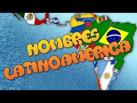 El Significado Original Del Nombre De Los Países De América Latina