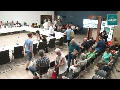 Conseil Municipal – jeudi 27 juin 2019<br />à 17h – en Mairie Annexe
