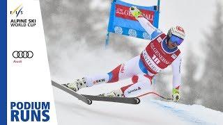 Beat Feuz   Men's SuperG   Kvitfjell   3rd Place   FIS Alpine